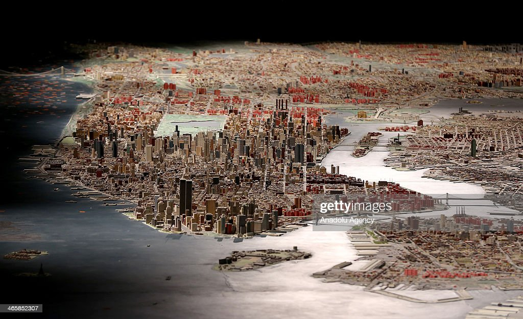 A model city of New York including 895000 buildings was made in 1964 'Panorama of the City of New York' name of the model city has been hosting at...