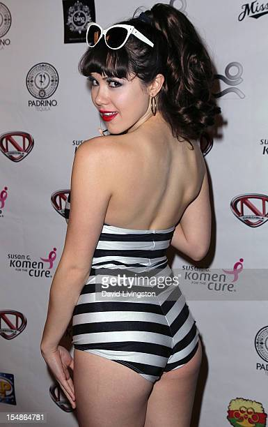 Model Claire Sinclair attends the Ncredible Haunted Mansion party hosted by Nick Cannon's Ncredible Entertainment at a private mansion on October 27...