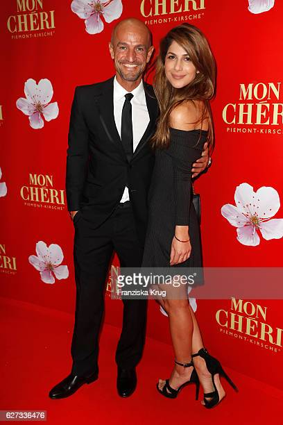 Model coach Peyman Amin and guest attend the Mon Cheri Barbara Tag at Postpalast on December 2 2016 in Munich Germany