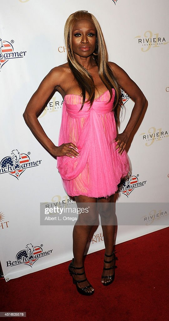 Model Coco Johnson arrives for BenchWarmer's Annual Stars & Stripes Celebration held at Riviera 31 on July 1, 2014 in Beverly Hills, California.