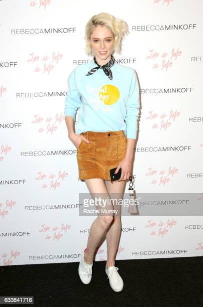 """Model Coco Rocha attended designer Rebecca Minkoff's Spring 2017 """"See Now Buy Now"""" Fashion Show at The Grove on February 4 2017 in Los Angeles..."""