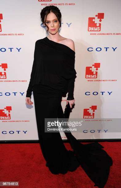 Model Coco Rocha attends DKMS' 4th Annual Gala Linked Against Leukemia at Cipriani 42nd Street on April 29 2010 in New York City