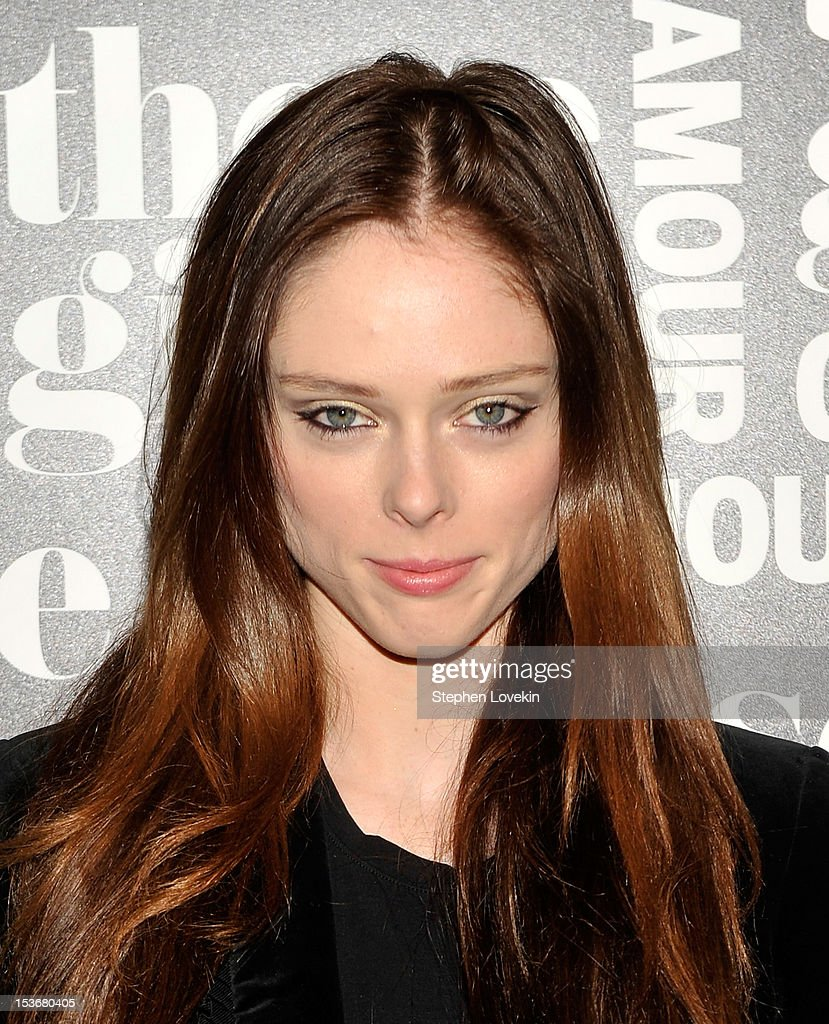 Model Coco Rocha attends Glamour Presents 'These Girls' at Joe's Pub on October 8, 2012 in New York City.