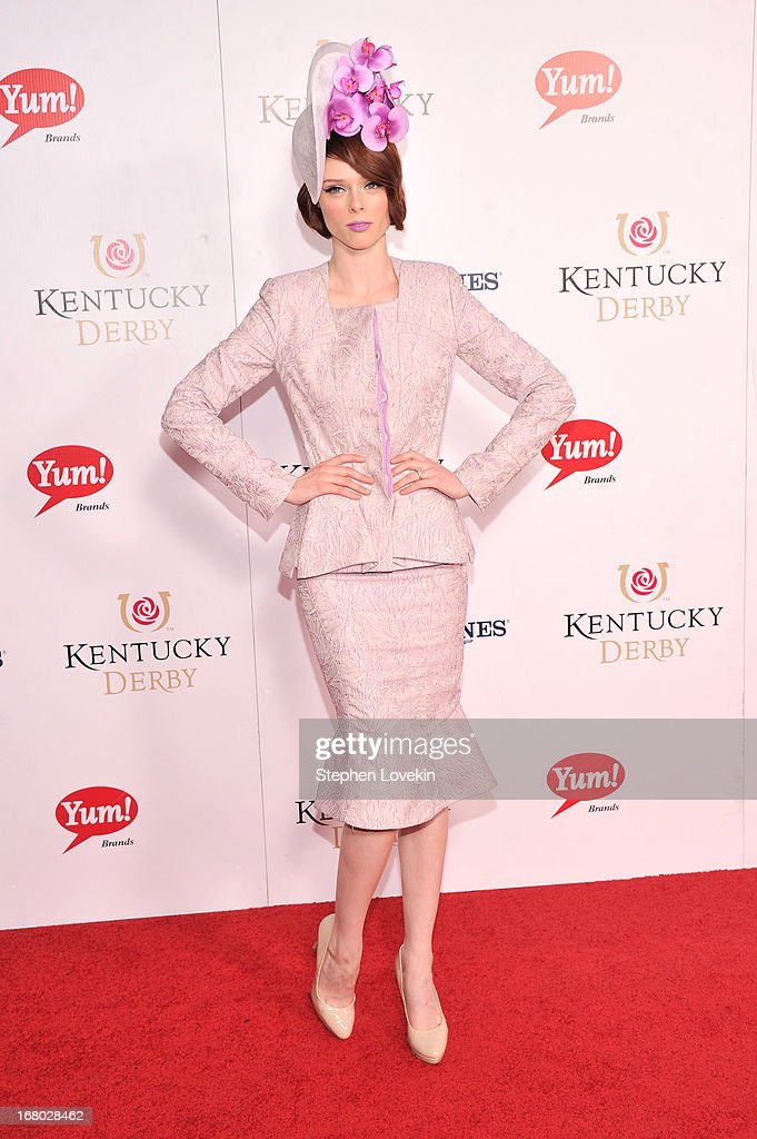 Model Coco Rocha attends the 139th Kentucky Derby at Churchill Downs on May 4, 2013 in Louisville, Kentucky.
