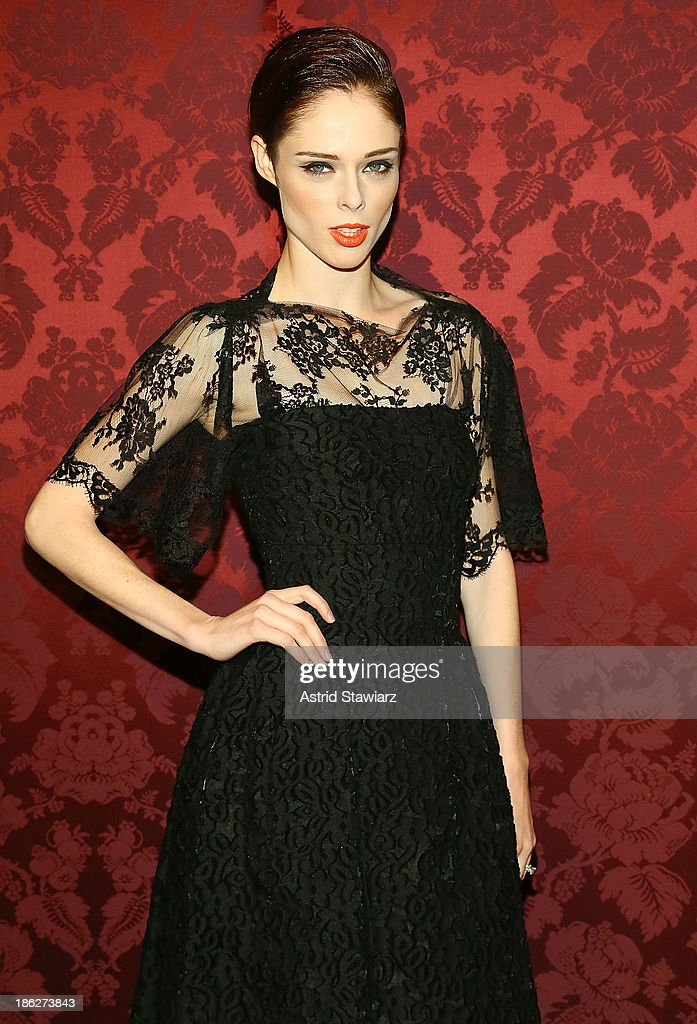 Model <a gi-track='captionPersonalityLinkClicked' href=/galleries/search?phrase=Coco+Rocha&family=editorial&specificpeople=4172514 ng-click='$event.stopPropagation()'>Coco Rocha</a> attends the 19th Annual Artwalk NY at 82 Mercer on October 29, 2013 in New York City.