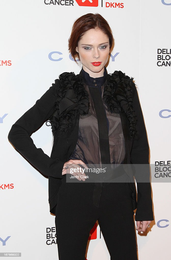 Model Coco Rocha attends the 2013 Delete Blood Cancer Gala at Cipriani Wall Street on May 1, 2013 in New York City.
