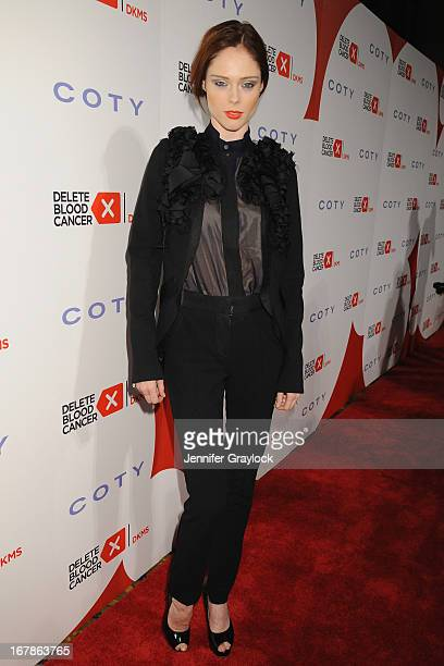 Model Coco Rocha attends the 2013 Delete Blood Cancer Gala honoring Vera Wang Leighton Meester and Suzi WeissFischmann on May 1 2013 in New York City