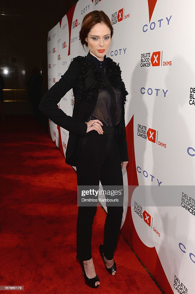 Model Coco Rocha attends the 2013 Delete Blood Cancer Gala honoring Vera Wang, Leighton Meester and Suzi Weiss-Fischmann on May 1, 2013 in New York City.