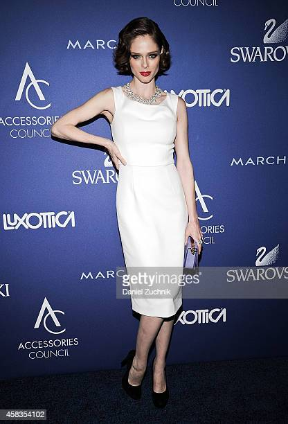 Model Coco Rocha attends the 2014 ACE Awards at Cipriani 42nd Street on November 3 2014 in New York City