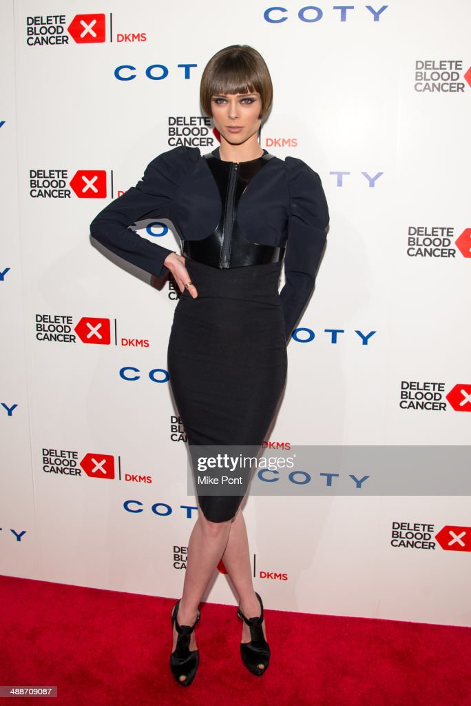 Model <a gi-track='captionPersonalityLinkClicked' href=/galleries/search?phrase=Coco+Rocha&family=editorial&specificpeople=4172514 ng-click='$event.stopPropagation()'>Coco Rocha</a> attends the 2014 Delete Blood Cancer Gala at Cipriani Wall Street on May 7, 2014 in New York City.