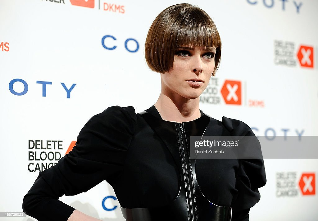 Model Coco Rocha attends the 2014 Delete Blood Cancer Gala at Cipriani Wall Street on May 7, 2014 in New York City.