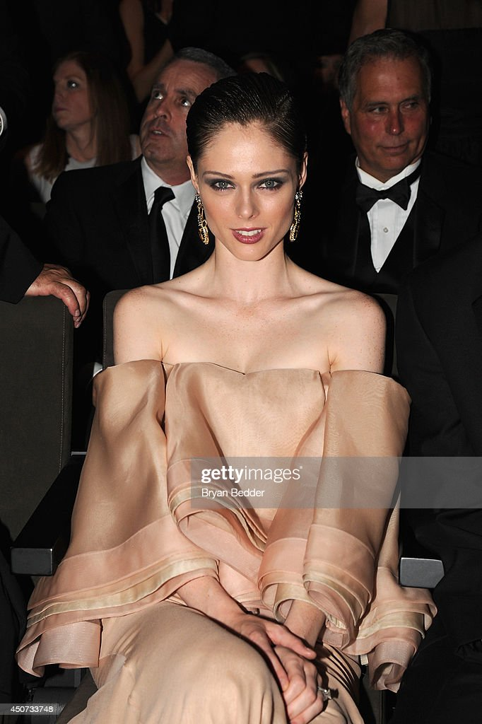 Model Coco Rocha attends the 2014 Fragrance Foundation Awards on June 16, 2014 in New York City.