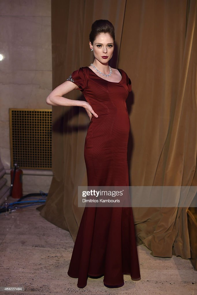 Model Coco Rocha attends the 2015 amfAR New York Gala at Cipriani Wall Street on February 11, 2015 in New York City.