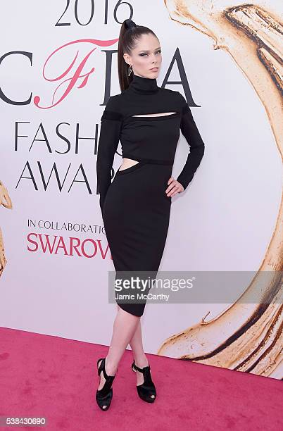 Model Coco Rocha attends the 2016 CFDA Fashion Awards at the Hammerstein Ballroom on June 6 2016 in New York City