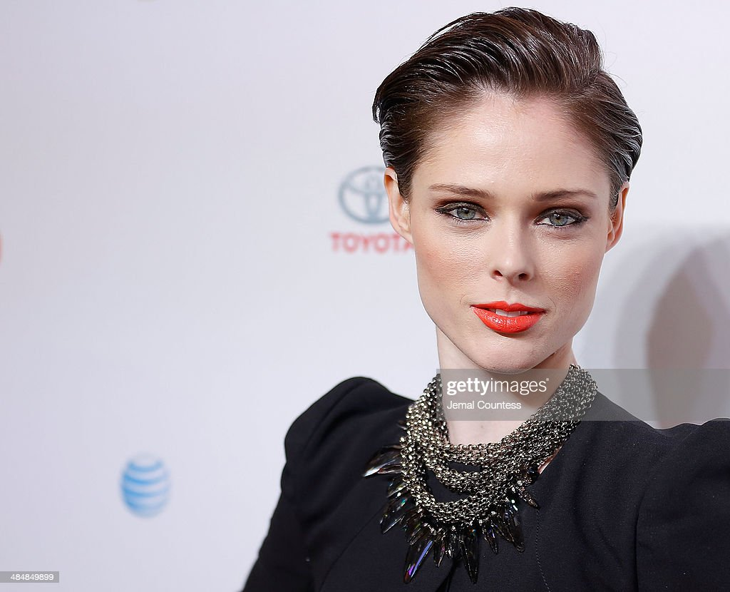 Model <a gi-track='captionPersonalityLinkClicked' href=/galleries/search?phrase=Coco+Rocha&family=editorial&specificpeople=4172514 ng-click='$event.stopPropagation()'>Coco Rocha</a> attends the 5th Annual Women In The World Summit at the David Koch Theatre at Lincoln Center on April 3, 2014 in New York City.