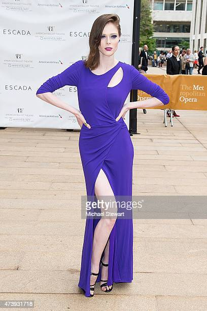 Model Coco Rocha attends the American Ballet Theatre's 75th Anniversary Diamond Jubilee Spring Gala at The Metropolitan Opera House on May 18 2015 in...