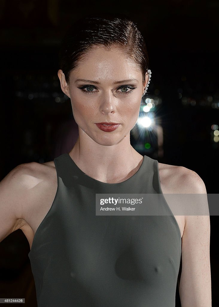Model <a gi-track='captionPersonalityLinkClicked' href=/galleries/search?phrase=Coco+Rocha&family=editorial&specificpeople=4172514 ng-click='$event.stopPropagation()'>Coco Rocha</a> attends the 'Begin Again' New York premiere after party at The Bowery Hotel on June 25, 2014 in New York City.