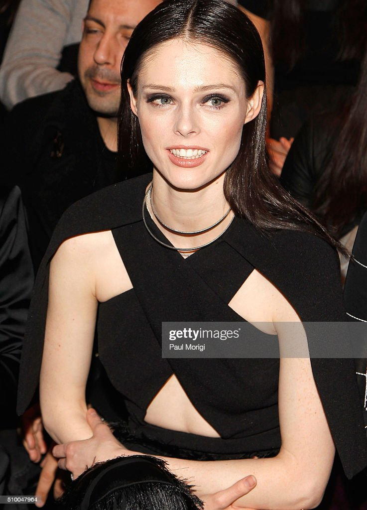 Model <a gi-track='captionPersonalityLinkClicked' href=/galleries/search?phrase=Coco+Rocha&family=editorial&specificpeople=4172514 ng-click='$event.stopPropagation()'>Coco Rocha</a> attends the Christian Siriano Fall 2016 fashion show during New York Fashion Week at ArtBeam on February 13, 2016 in New York City.