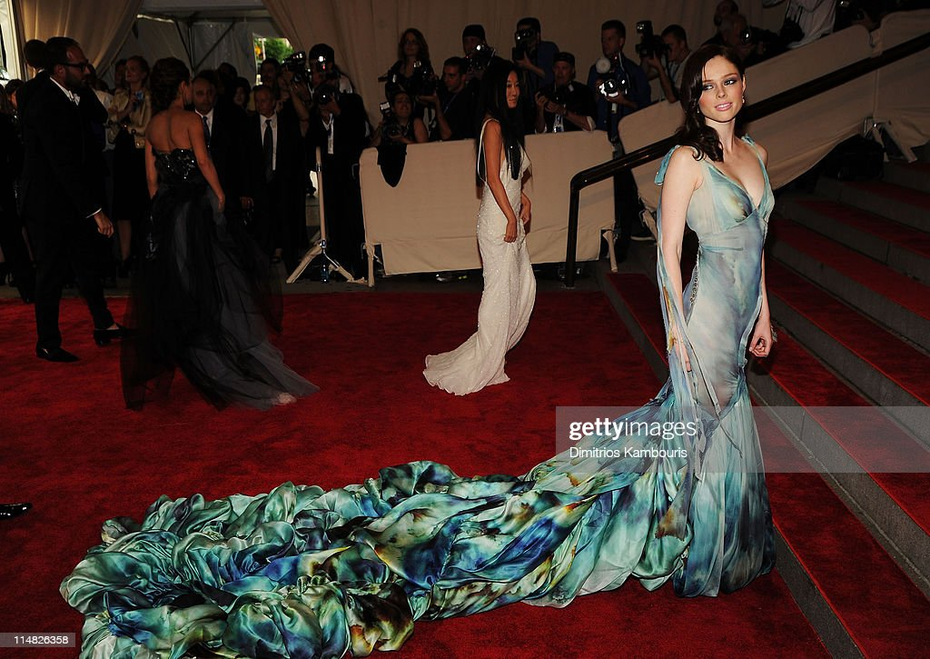 Model Coco Rocha attends the Costume Institute Gala Benefit to celebrate the opening of the 'American Woman: Fashioning a National Identity' exhibition at The Metropolitan Museum of Art on May 3, 2010 in New York City.