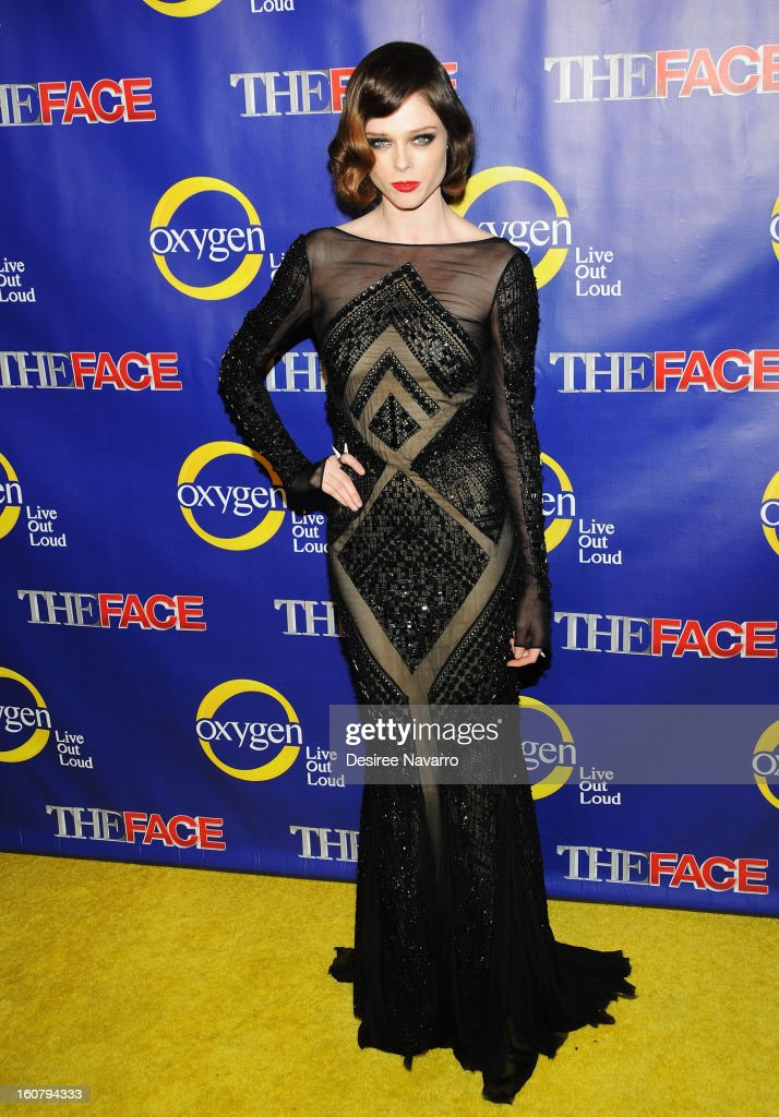 Model Coco Rocha attends 'The Face' Series Premiere at Marquee New York on February 5, 2013 in New York City.