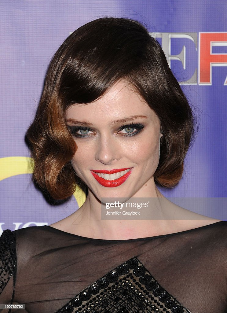 Model Coco Rocha attends 'The Face' Series Premiere held at Marquee New York on February 5, 2013 in New York City.