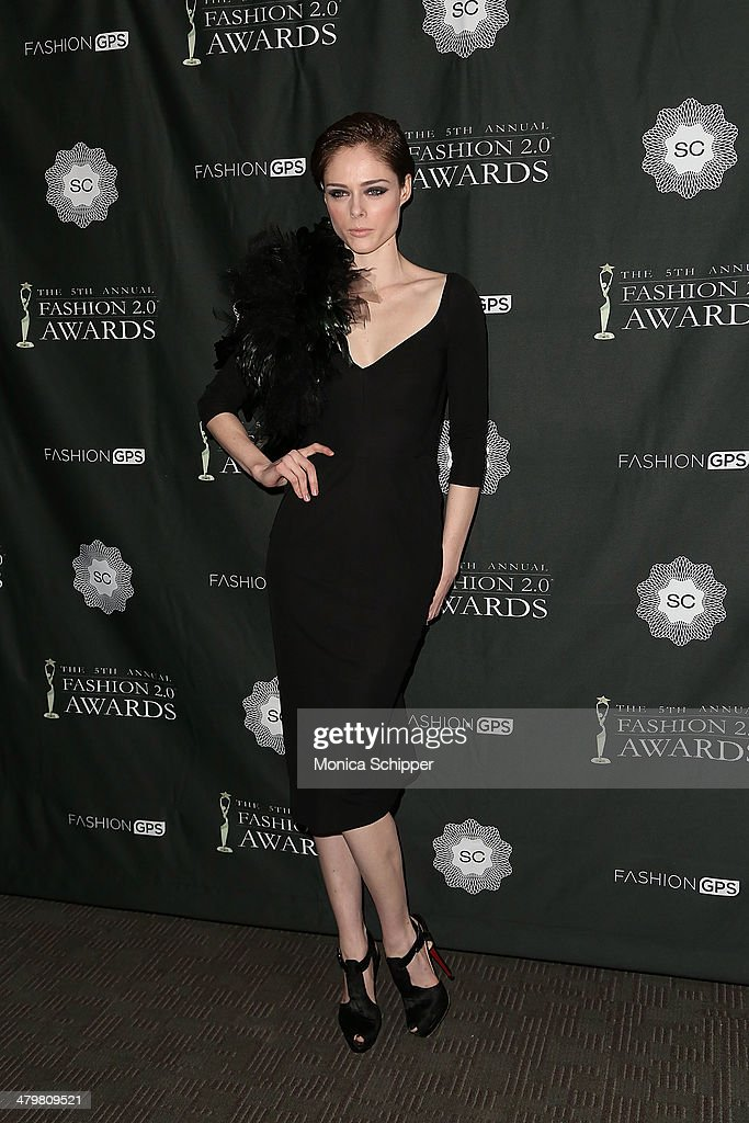 Model <a gi-track='captionPersonalityLinkClicked' href=/galleries/search?phrase=Coco+Rocha&family=editorial&specificpeople=4172514 ng-click='$event.stopPropagation()'>Coco Rocha</a> attends the FASHION 2.0 Awards at Merkin Concert Hall on March 20, 2014 in New York City.