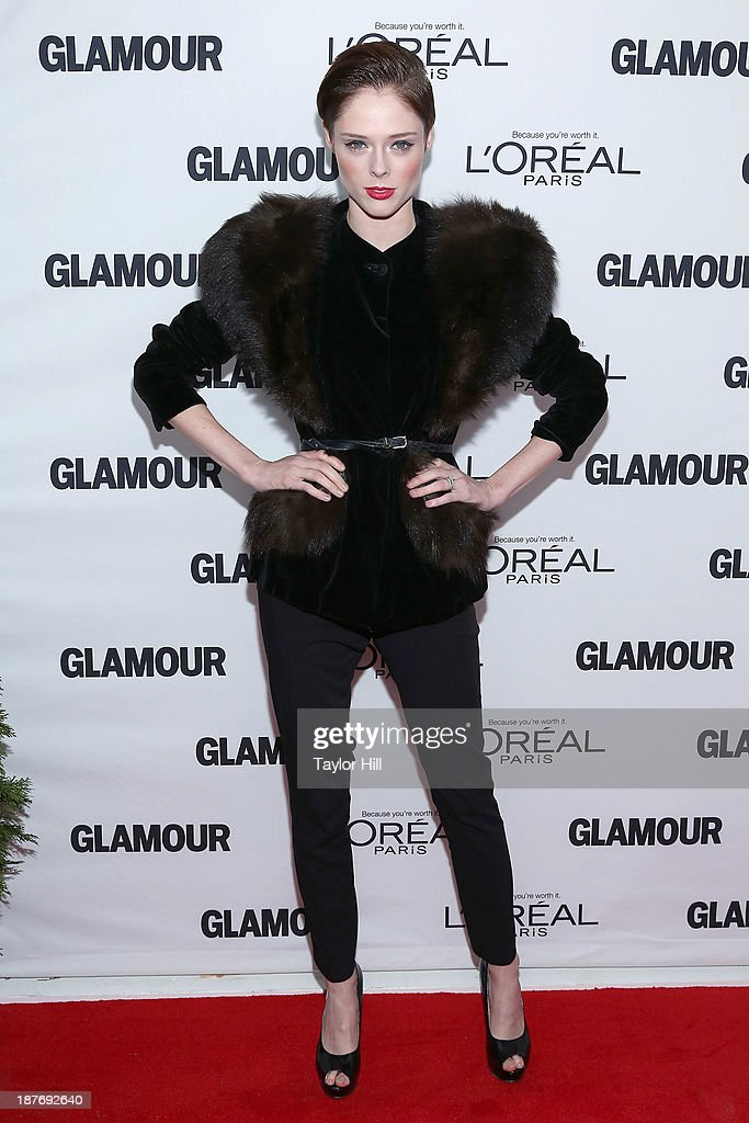Model <a gi-track='captionPersonalityLinkClicked' href=/galleries/search?phrase=Coco+Rocha&family=editorial&specificpeople=4172514 ng-click='$event.stopPropagation()'>Coco Rocha</a> attends the Glamour Magazine 23rd annual Women Of The Year gala on November 11, 2013 in New York, United States.