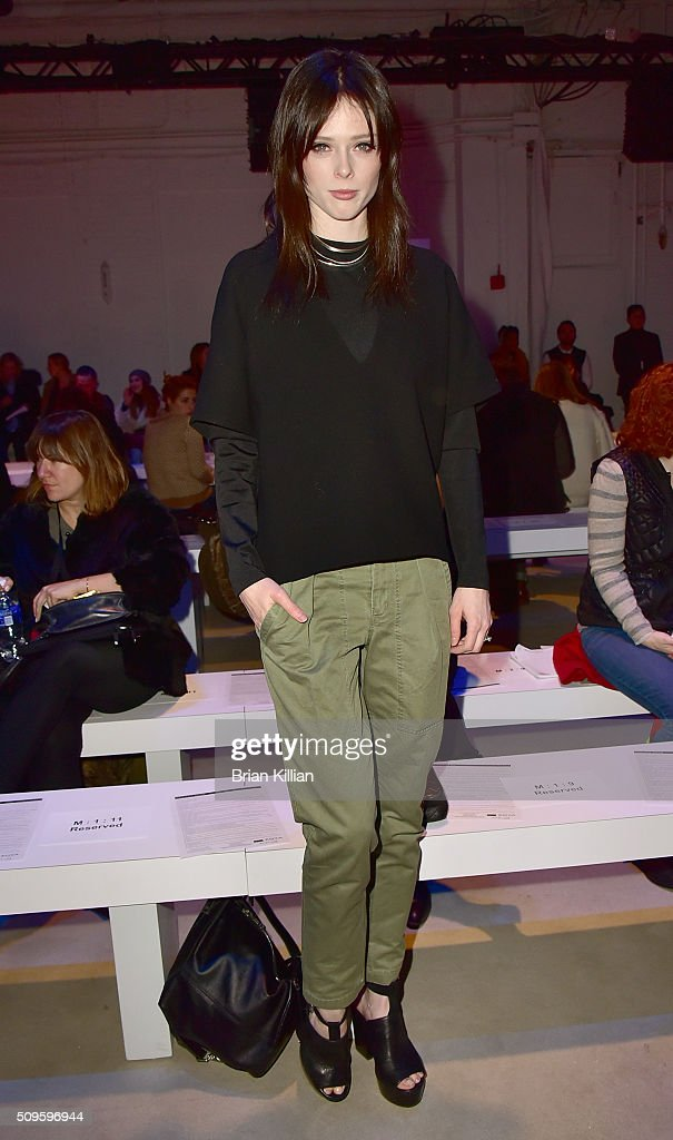 Model <a gi-track='captionPersonalityLinkClicked' href=/galleries/search?phrase=Coco+Rocha&family=editorial&specificpeople=4172514 ng-click='$event.stopPropagation()'>Coco Rocha</a> attends the Marissa Webb Fall 2016 show during New York Fashion Week: The Shows at The Gallery, Skylight at Clarkson Sq on February 11, 2016 in New York City.