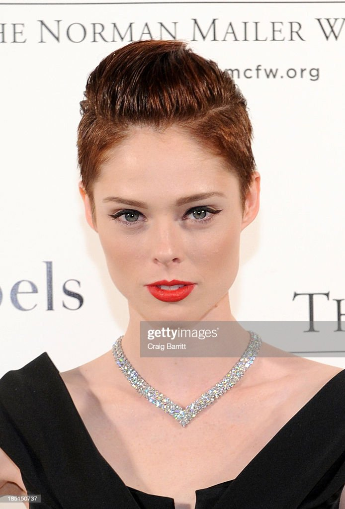 Model <a gi-track='captionPersonalityLinkClicked' href=/galleries/search?phrase=Coco+Rocha&family=editorial&specificpeople=4172514 ng-click='$event.stopPropagation()'>Coco Rocha</a> attends the Norman Mailer Center's fifth annual benefit gala at the New York Public Library on October 17, 2013 in New York City.