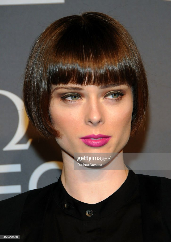 Model <a gi-track='captionPersonalityLinkClicked' href=/galleries/search?phrase=Coco+Rocha&family=editorial&specificpeople=4172514 ng-click='$event.stopPropagation()'>Coco Rocha</a> attends the OMEGA Speedmaster Dark Side of the Moon launch at Cedar Lake on June 10, 2014 in New York City.