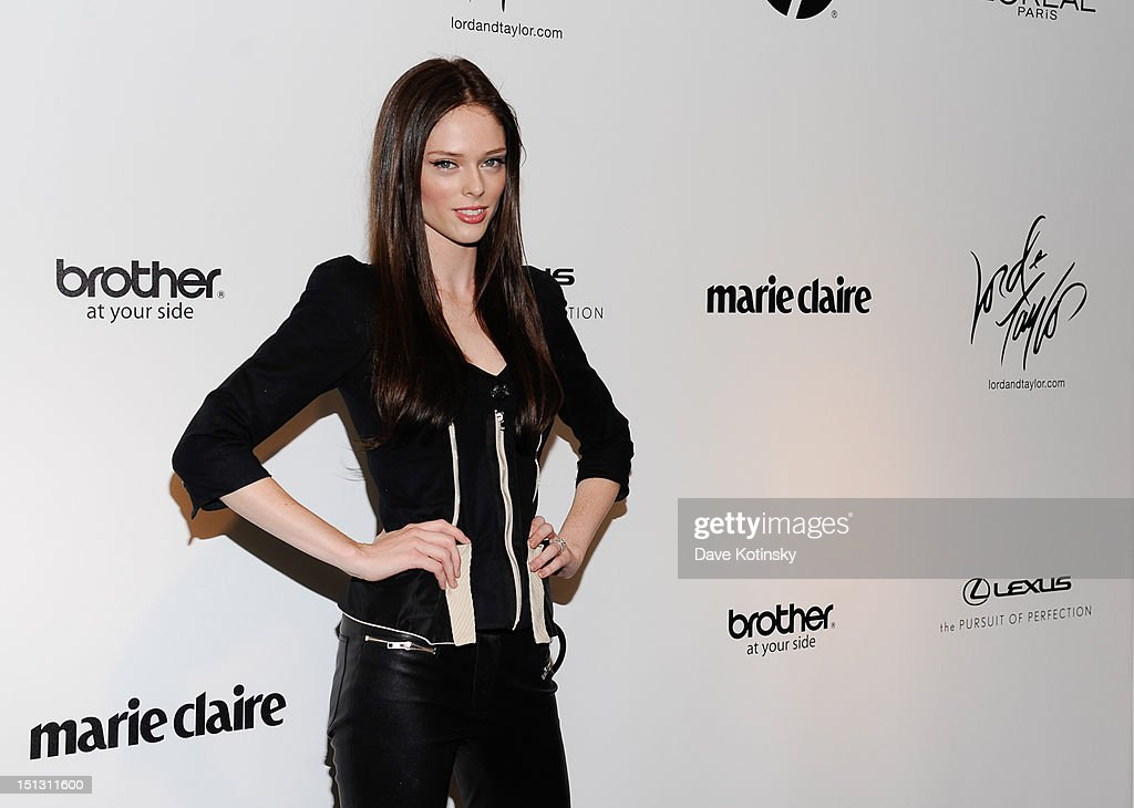 Model Coco Rocha attends the Project Runway Season 10 'Wrap Party' hosted by Lord & Taylor and sponsored by HP/Intel, Brother, L'Oreal, Marie Claire and Lexus at Lord & Taylor on September 5, 2012 in New York City.