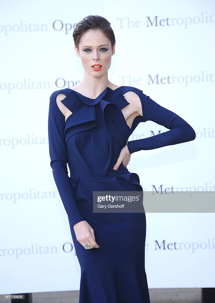 Model <a gi-track='captionPersonalityLinkClicked' href=/galleries/search?phrase=Coco+Rocha&family=editorial&specificpeople=4172514 ng-click='$event.stopPropagation()'>Coco Rocha</a> attends the season opening performance of Tchaikovsky's 'Eugene Onegin' at The Metropolitan Opera House on September 23, 2013 in New York City.