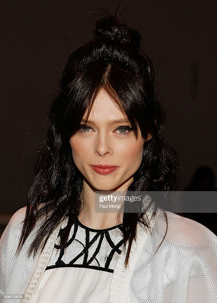Model <a gi-track='captionPersonalityLinkClicked' href=/galleries/search?phrase=Coco+Rocha&family=editorial&specificpeople=4172514 ng-click='$event.stopPropagation()'>Coco Rocha</a> attends the Yigal Azrouel Fall 2016 fashion show during New York Fashion Week: The Shows at The Gallery, Skylight at Clarkson Sq on February 12, 2016 in New York City.