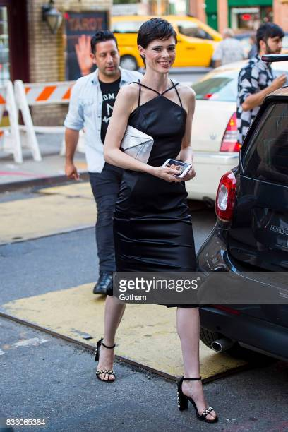 Model Coco Rocha is seen in Greenwich Village on August 16 2017 in New York City