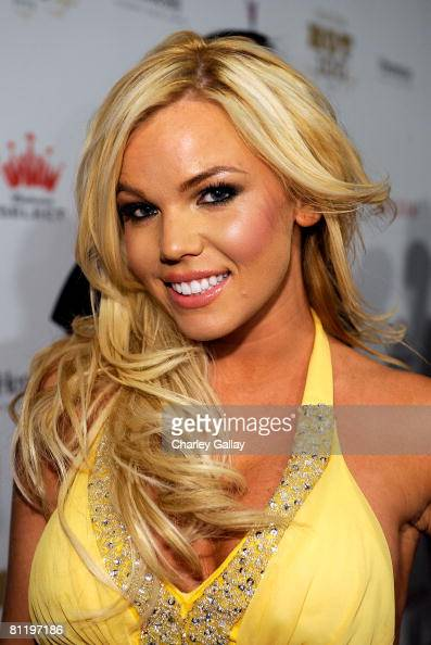 Model Colleen Shannon arrives at Maxim's 2008 Hot 100 Party held at Paramount Studios on May 21 2008 in Los Angeles California