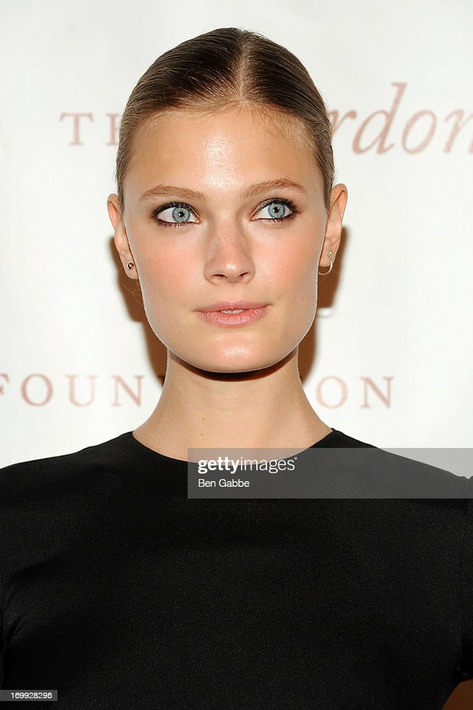 Model Constance Jablonski attends 2013 Gordon Parks Foundation Awards at The Plaza Hotel on June 4, 2013 in New York City.