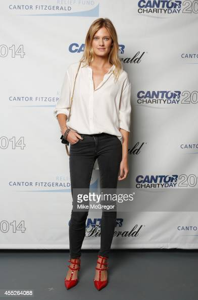 Model Constance Jablonski attends Annual Charity Day Hosted By Cantor Fitzgerald And BGC at Cantor Fitzgerald on September 11 2014 in New York City