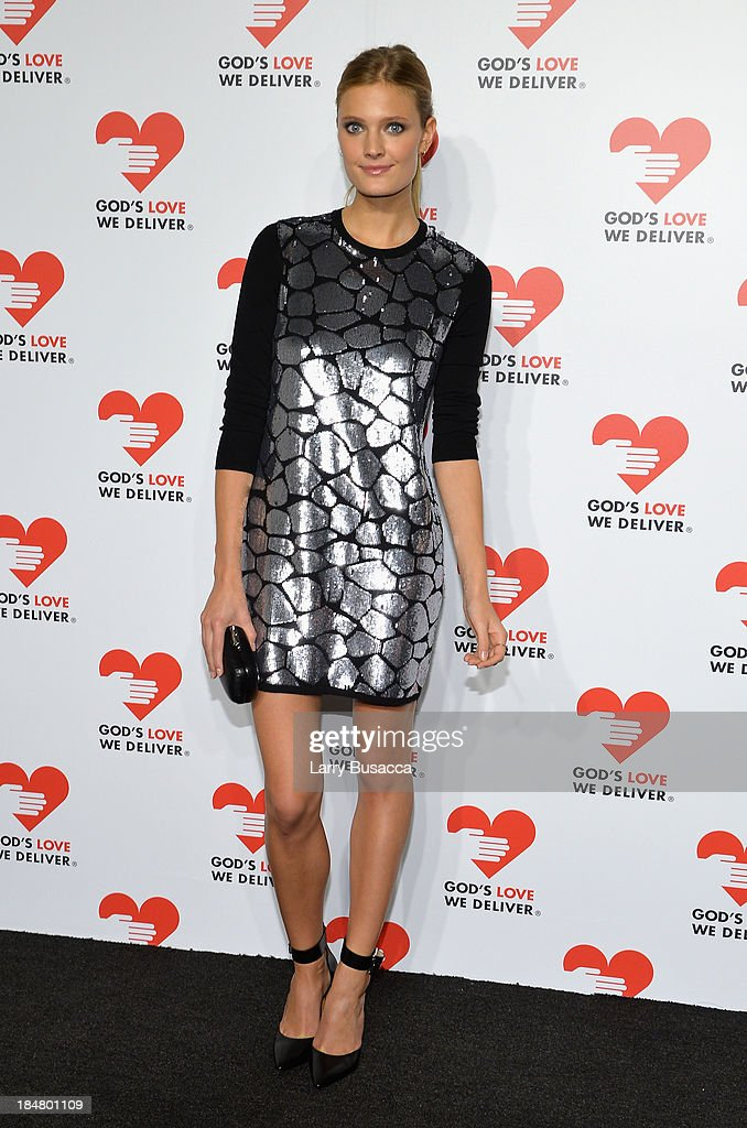 Model Constance Jablonski attends God's Love We Deliver 2013 Golden Heart Awards Celebration at Spring Studios on October 16, 2013 in New York City.