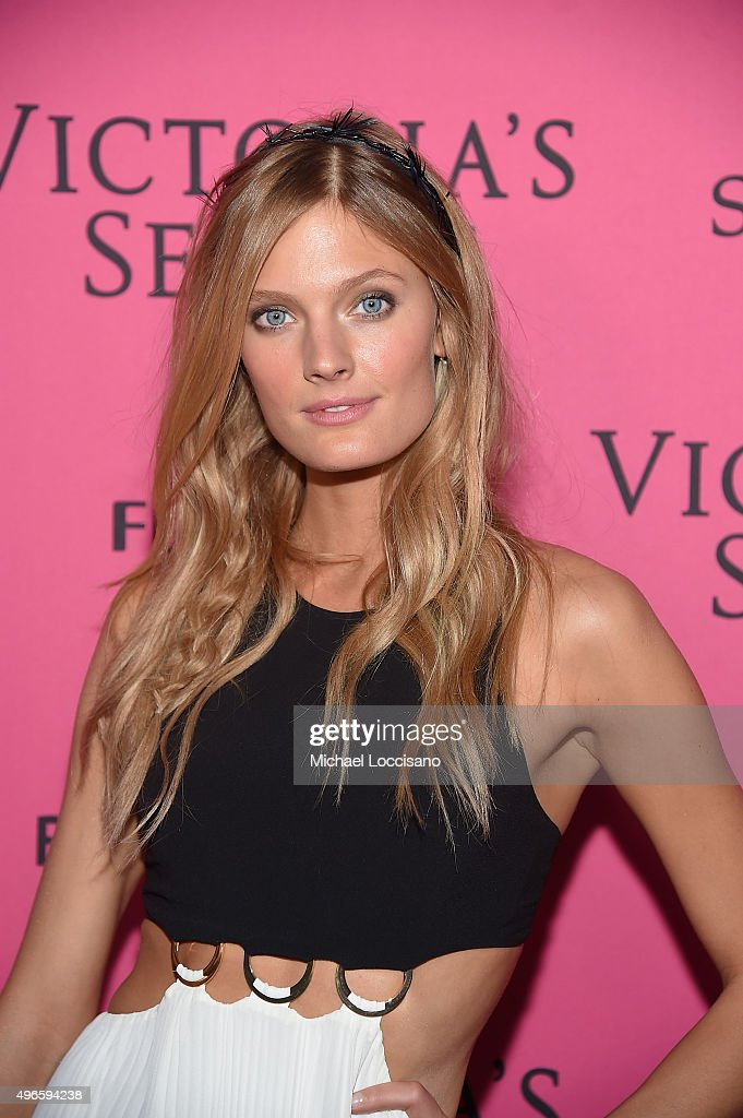 Model Constance Jablonski attends the 2015 Victoria's Secret Fashion After Party at TAO Downtown on November 10, 2015 in New York City.