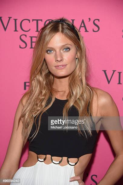 Model Constance Jablonski attends the 2015 Victoria's Secret Fashion After Party at TAO Downtown on November 10 2015 in New York City