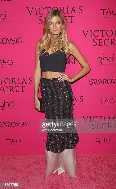 Model Constance Jablonski attends the after party for the 2013 Victoria's Secret Fashion Show at TAO Downtown on November 13 2013 in New York City