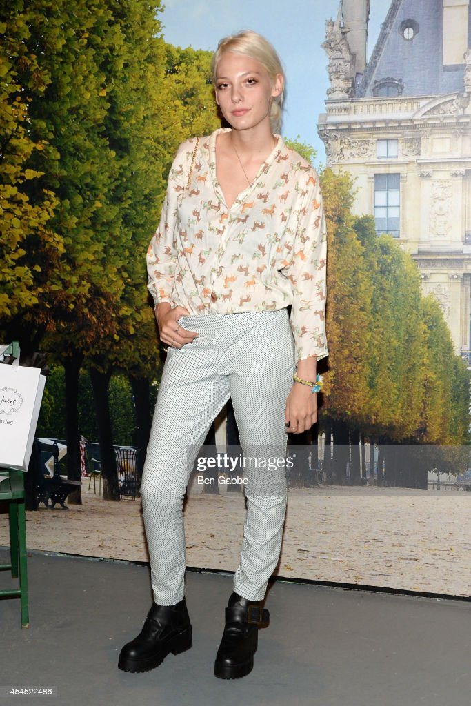 Model Cory Kennedy attends the Maison Jules Presentation during Mercedes-Benz Fashion Week Spring 2015 at Art Beam on September 2, 2014 in New York City.