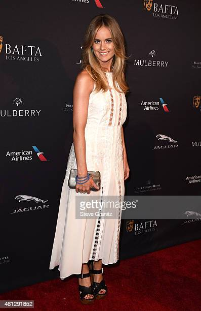 Model Cressida Bonas attends the 2015 BAFTA Tea Party at The Four Seasons Hotel on January 10 2015 in Beverly Hills California