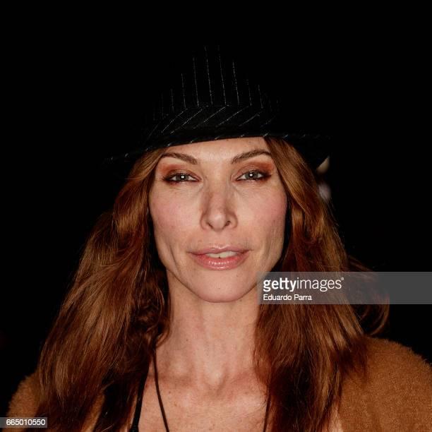 Model Cristina Piaget attends the 'El Pelotari y la Fallera' premiere at Callao cinema on April 5 2017 in Madrid Spain