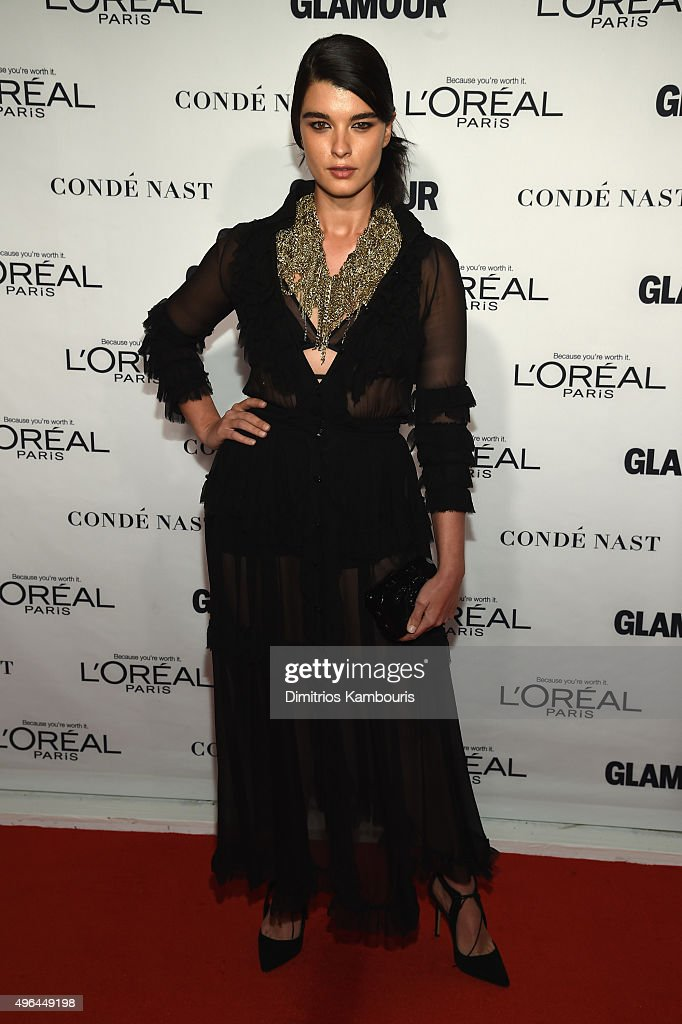 Model <a gi-track='captionPersonalityLinkClicked' href=/galleries/search?phrase=Crystal+Renn&family=editorial&specificpeople=2216376 ng-click='$event.stopPropagation()'>Crystal Renn</a> attends 2015 Glamour Women Of The Year Awards at Carnegie Hall on November 9, 2015 in New York City.