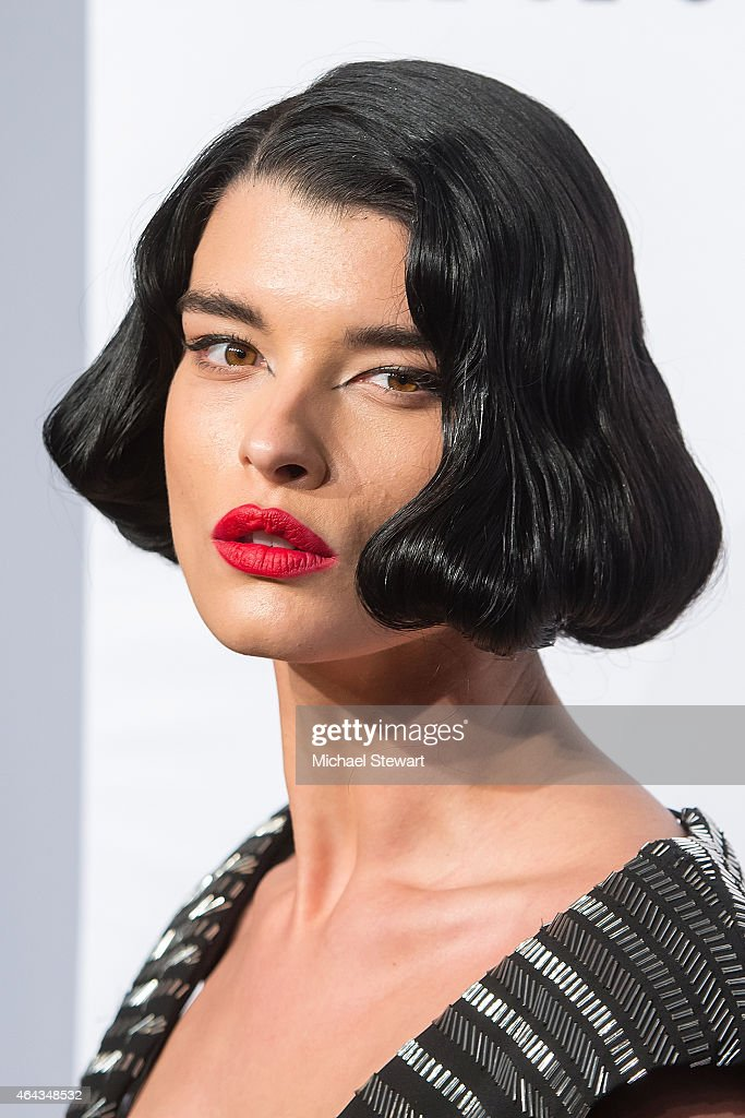 Model <a gi-track='captionPersonalityLinkClicked' href=/galleries/search?phrase=Crystal+Renn&family=editorial&specificpeople=2216376 ng-click='$event.stopPropagation()'>Crystal Renn</a> attends the 2015 amfAR New York Gala at Cipriani Wall Street on February 11, 2015 in New York City.