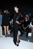 Model Crystal Renn attends the Alon Livne fashion show during MercedesBenz Fashion Week Spring 2014 at The Studio at Lincoln Center on September 10...