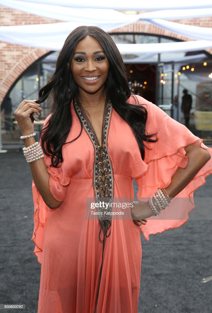 Model Cynthia Bailey attends the 30th Annual Leigh Steinberg Super Bowl Party on February 4, 2017 in Houston, Texas.
