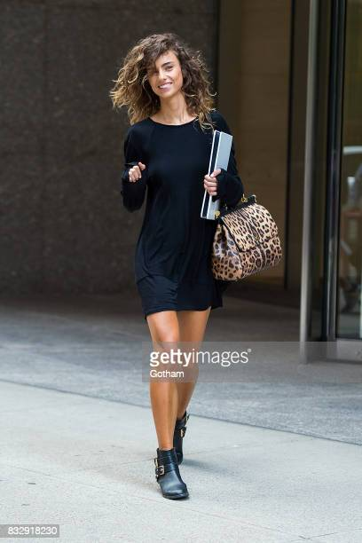 Model Dahlia Savic attends casting for the 2017 Victoria's Secret Fashion Show in Midtown on August 16 2017 in New York City