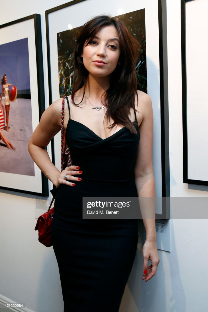 Model <a gi-track='captionPersonalityLinkClicked' href=/galleries/search?phrase=Daisy+Lowe&family=editorial&specificpeople=787647 ng-click='$event.stopPropagation()'>Daisy Lowe</a> attends ghd's exhibition of iconic beauty must-haves to celebrate the launch of ghd aura, a ground-breaking drying and styling tool on June 25, 2014 in London, England.